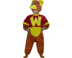 Costume Orsetto Willy Peluche